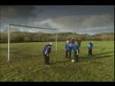 Тренировка футбольной команды святых отцов.(Отрывок из сериала: Отец Тед).