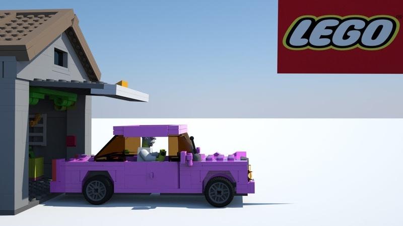 Конструктор Lego The Simpsons House 71006 - Набор Дом Симпсонов.Lego мультфильм