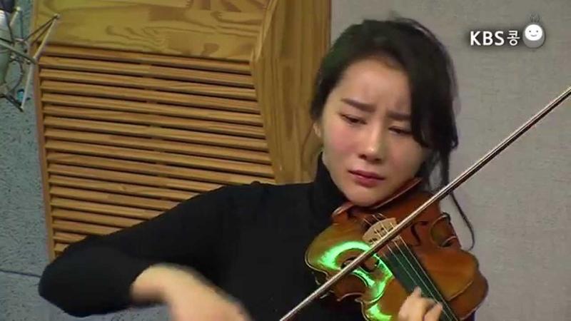 [유지원의 옥탑방라디오] 바이올리니스트 신지아 'Canto antigo (오래된 노4357