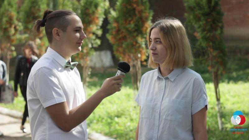 Онищенко Арина. Кандидат в председателя ученического самоуправления.
