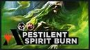 Pestilent Spirit Burn | Ravnica Allegiance Standard Deck (MTG Arena)