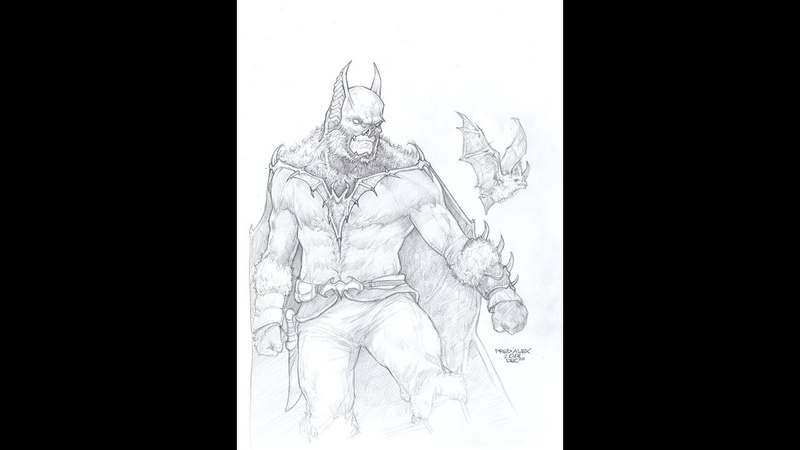 Designing the Bat (Batman from 19th Century) Part 1 by PRED'ALEX