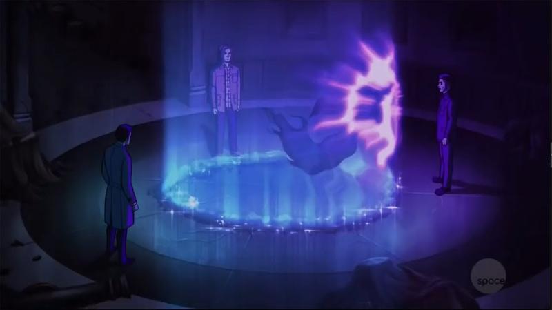 Парни загнали призрака в ловушку | Сверхъестественное 13 сезон 16 серия