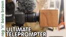 Ultimate Teleprompter AutoCue - Mounts To Camera Lens