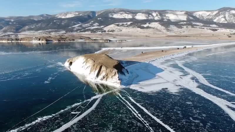 Малое море, лед Байкала