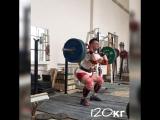 Тренировка по тяжелой атлетике СК Метеор.