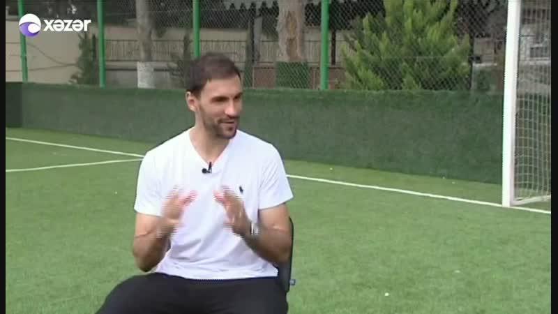 Futbolçumuz Vaqner da Silva Xəzər TVdə yayımlanan Futbol saatı verilişinin qonağı olub.