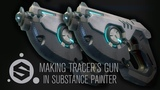 Texturing Tracer's Gun from Overwatch in Substance Painter (Part 6)