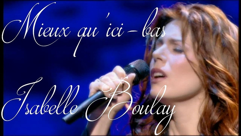Isabelle Boulay Mieux quici-bas Olympia 2005