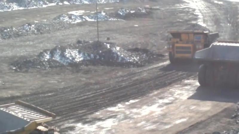 Hell Work Dumper Crash Intelligent Technology Mining Mega Machines Excavator Loader Dozer Tractor