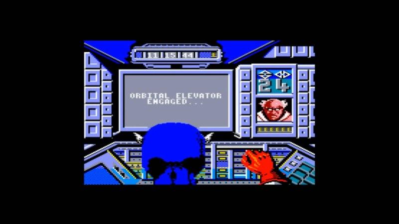 Captain America Defies the Doom Tube Amstrad cpc HD