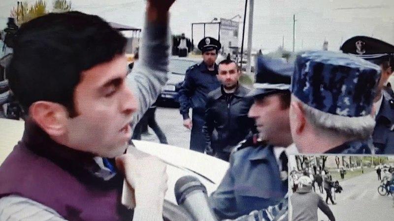В Армении представителя СМИ избили и увезли в неизвестном направлении 20.04.18