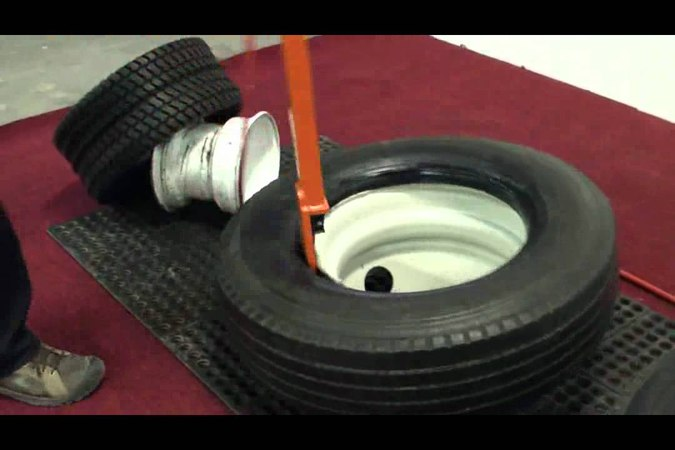 Multiple Tire Demounting with Universal Demounting Tool [Model 20408]