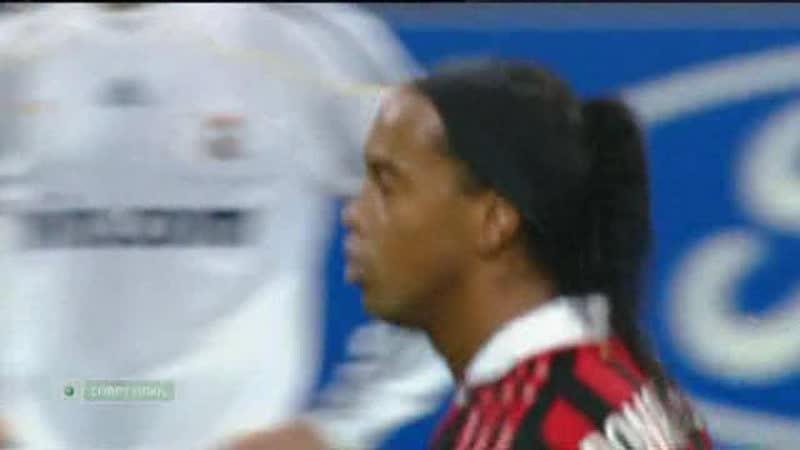 119 CL-2009/2010 AC Milan - Real Madrid 1:1 (03.11.2009) HL