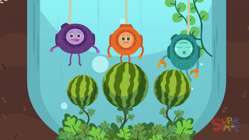 Underwater Watermelon Salad . Episode 2