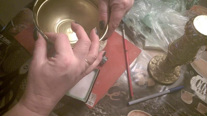 каменная чаша из полимерной глины. ч 1