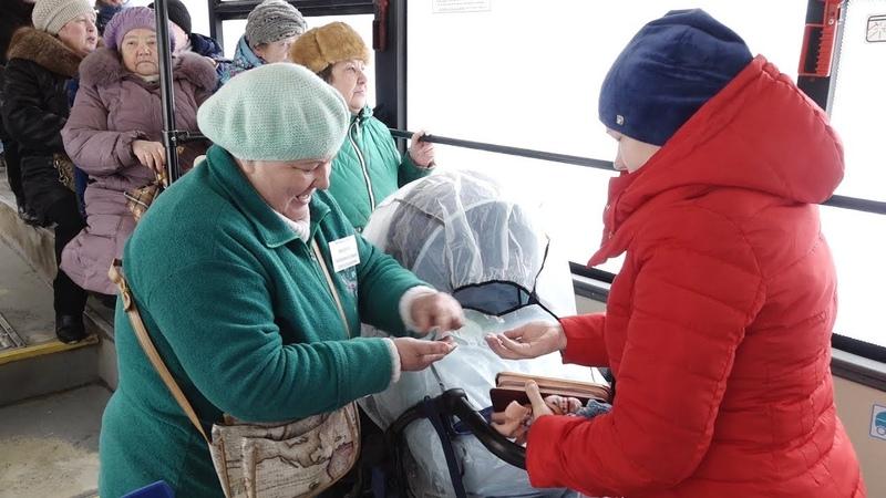«Хочется видеться с людьми» на маршруте №37 «Вологда-Молочное» работает позитивный кондуктор