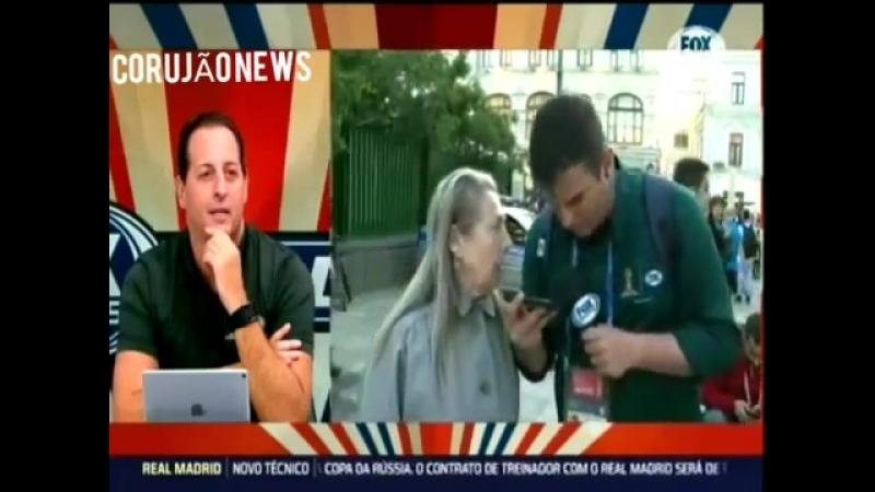 Российская пенсионерка взорвала эфир на бразильском ТВ