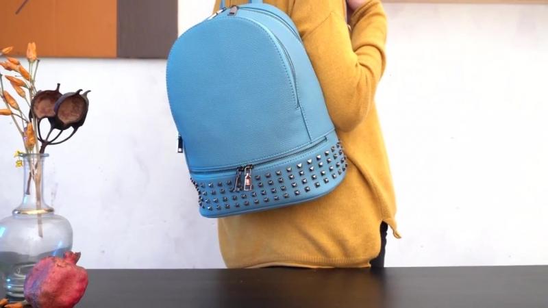 Видеообзор женского рюкзака из экокожи Ors Oro DS 861