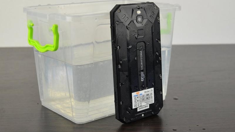 Homtom Zoji Z8 - защищённый смартфон в тонком корпусе, лучший выбор!