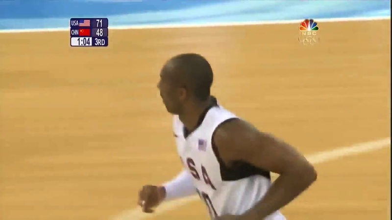 Kobe Bryant Destroys Yao Ming and China 2008 Bejing!