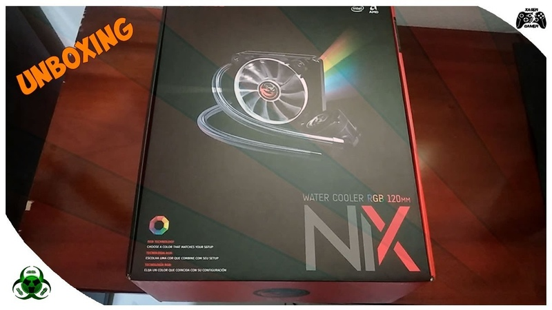 UNBOXING WATER COOLER PCYES NIX 120MM RGB[PT-BR]
