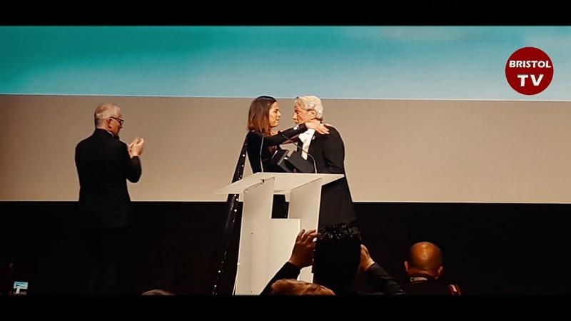 Cannes 2019 - Remise de la Palme dOr dHonneur à Alain Delon