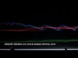 Grigory Gromov av live @ GAMMA FESTIVAL 2018