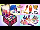 Play Doh Makeup Set How to Make Eyeshadow, Lipstick 💄 Nail Polish with Play Doh Video Compilation