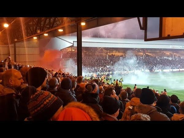 Stoke City fans at Port Vale - Away days