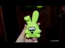 Амигуруми Пухлый кролик МК Полимерная глина Мастер-класс Творчество