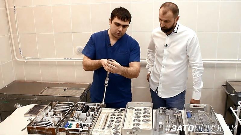 Своя среда Врач травматолог-ортопед Руслан Джафаров (Саров)