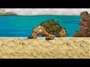 Мультики Пещерный человек 5 Caveman Морская черепаха из пластилина видео для детей смотреть онлайн.