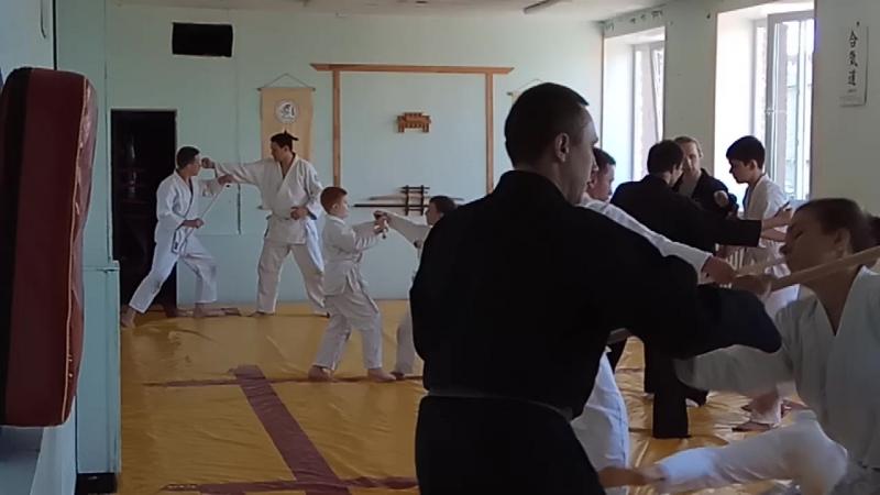 Тренировка Будзинкан