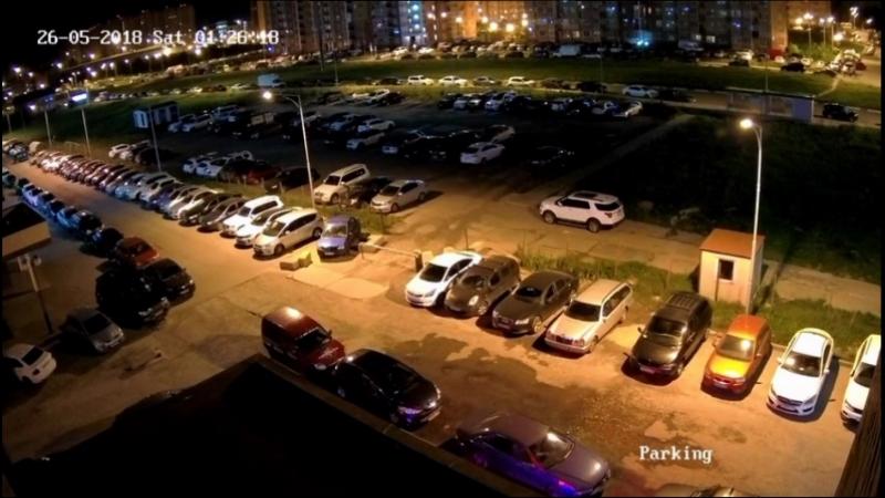 Видео аварии в Гусарской Балладе 26.05.2018
