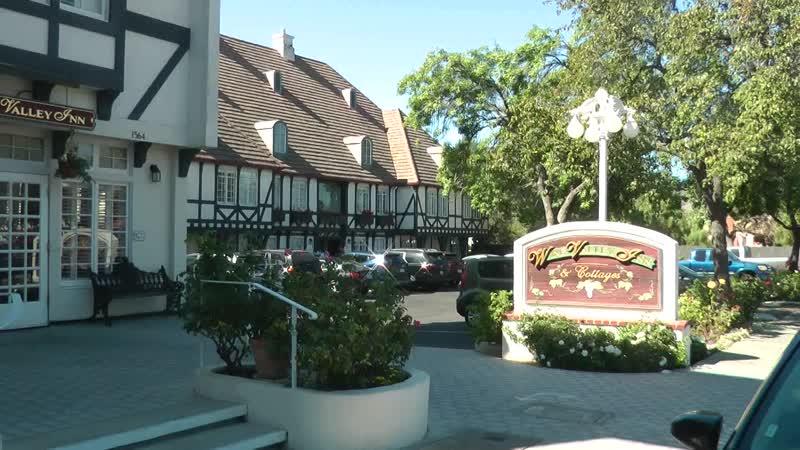 Отель Wine Valley Inn Cottages в Солванге (Калифорния), коттедж №2 (1)