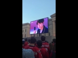 THEY PLAYED THE BTS LG COMMERCIAL DURING THE STANLY CUP HOLY FUCK IM SHAKING BTS
