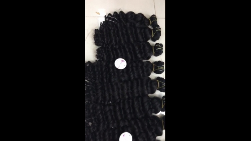 DOUBLE WEFT HAIR EXTENSION , CURLY , 24 INCHES
