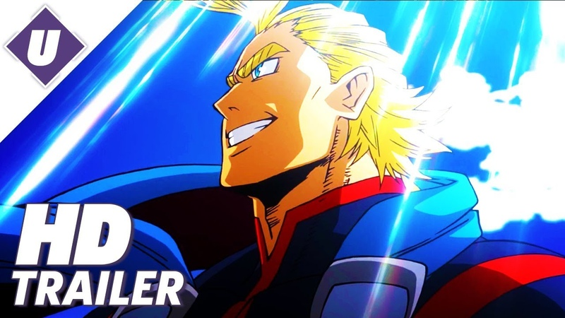 My Hero Academia: Two Heroes - First Official Dubbed Trailer (2018)