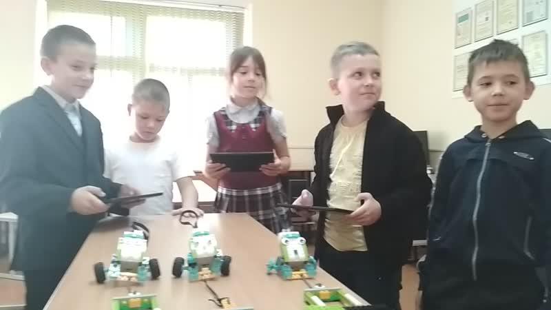 впечатление детей от первого занятия (отзыв)