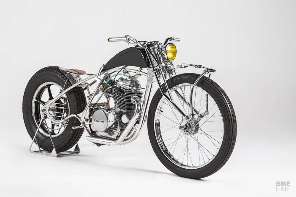 Эди Буффон: боббер Kawasaki KZ250