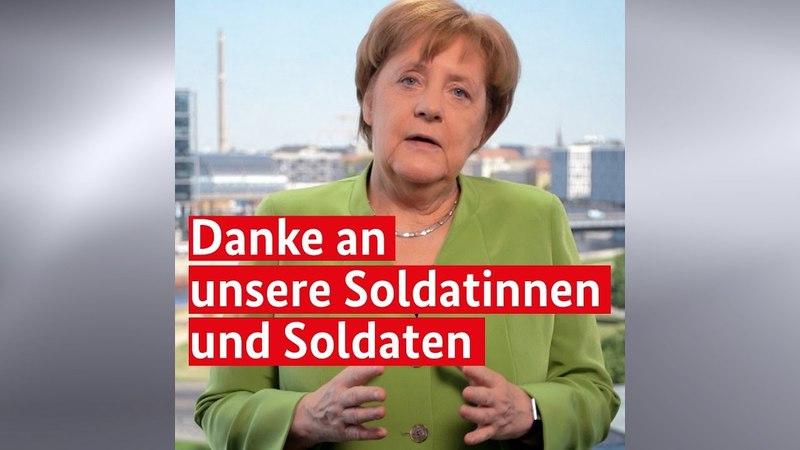 Kanzlerin Merkel Krisen gar nicht erst entstehen lassen