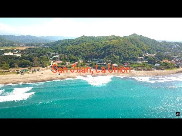 San Juan, La Union, Philippines, Surf Resort DJI Mavic Pro