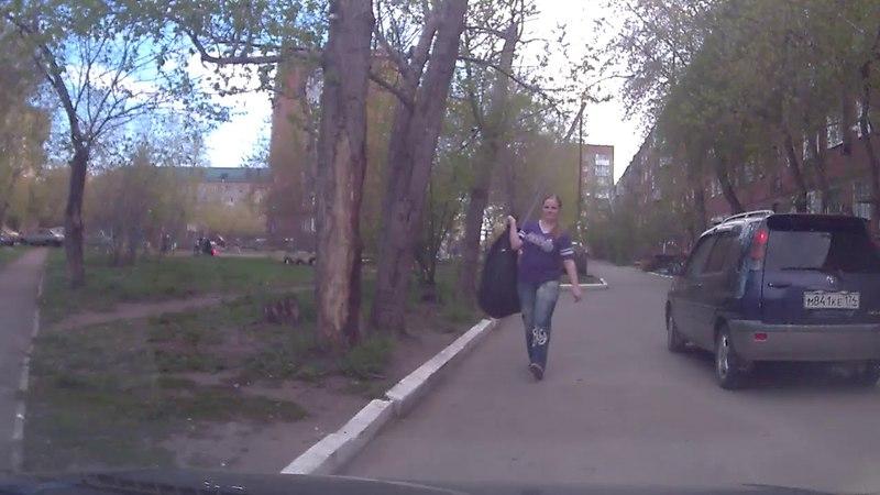 Наехал на пешехода во вдоре 22 05 2018 Омск