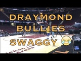 Swaggy splashing, Draymond bullies him before practice in Cleveland, day before 2018 NBA Finals G4