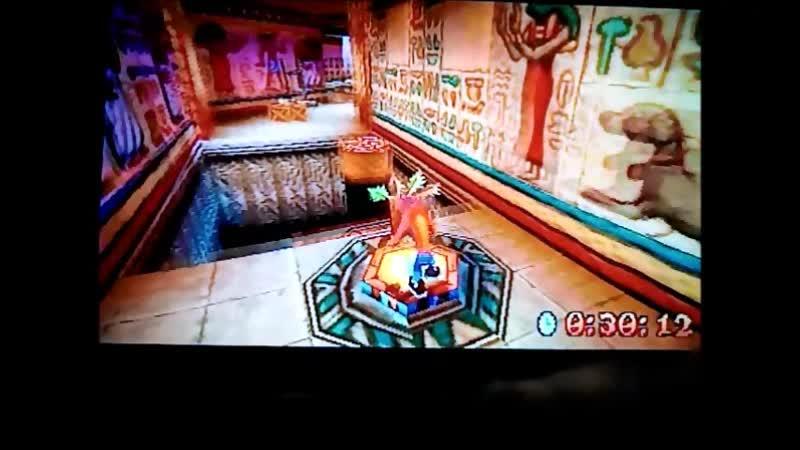 Crash Bandicoot 3: Warped (PAL). Time Trial.Tomb Time.49:28.Я вижу цель,верю в себя(с))