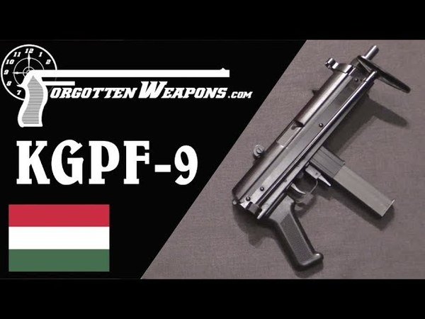Hungarian KGPF-9 Kalashnikov Genetics in a 9mm SMG