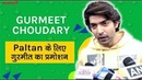 Paltan Ke Promotion Mein Busy Gurmeet Choudhary   J.P. Dutta