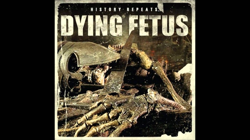 Dying Fetus Unleashed Upon Mankind Bolt Thrower cover