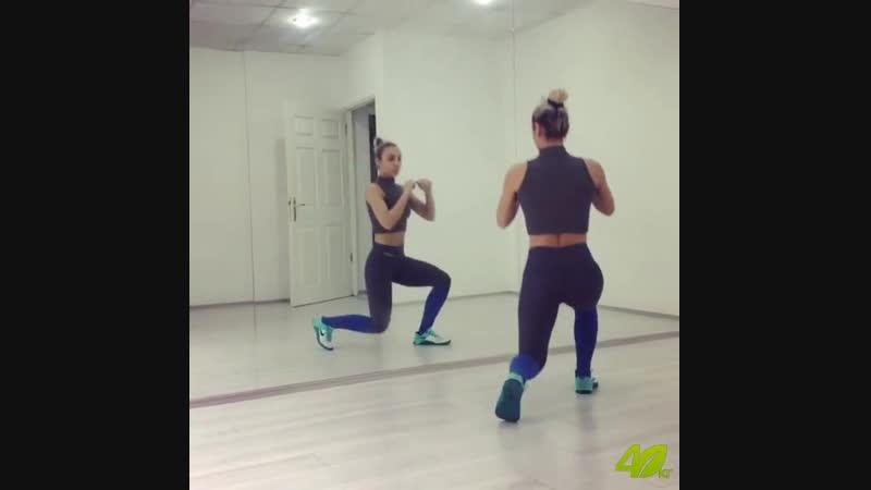 Упражнения для ног и попы